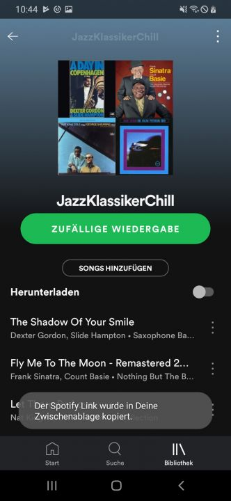 Spotify Playlist kopieren